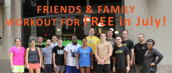CoreTen Fitness Wilmington DE Friends and Family workout for FREE in July