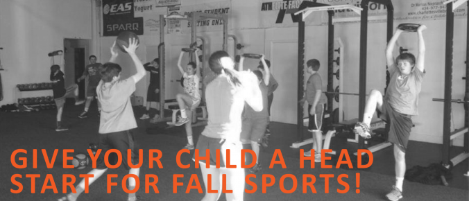 Give Your Child a Head Start for Fall Sports Youth Athletic Training program