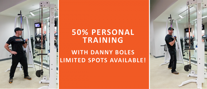 50% off personal training with danny boles