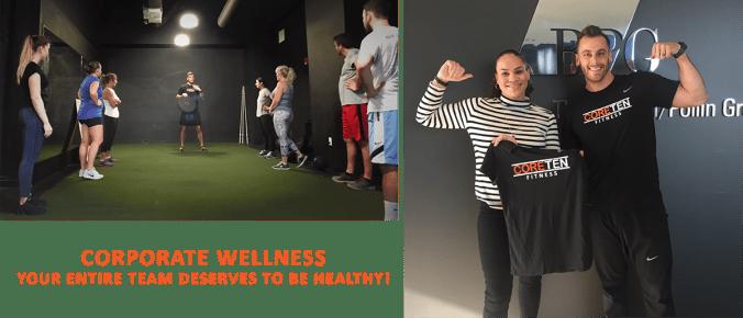 corporate wellness at coreten fitness